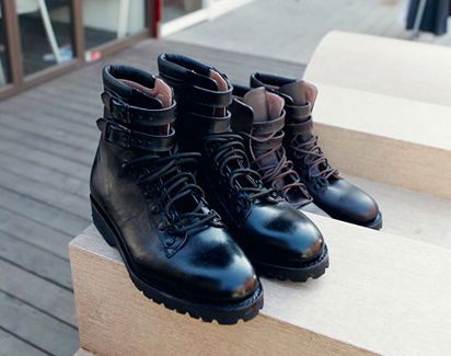 Belted Tanker Boots